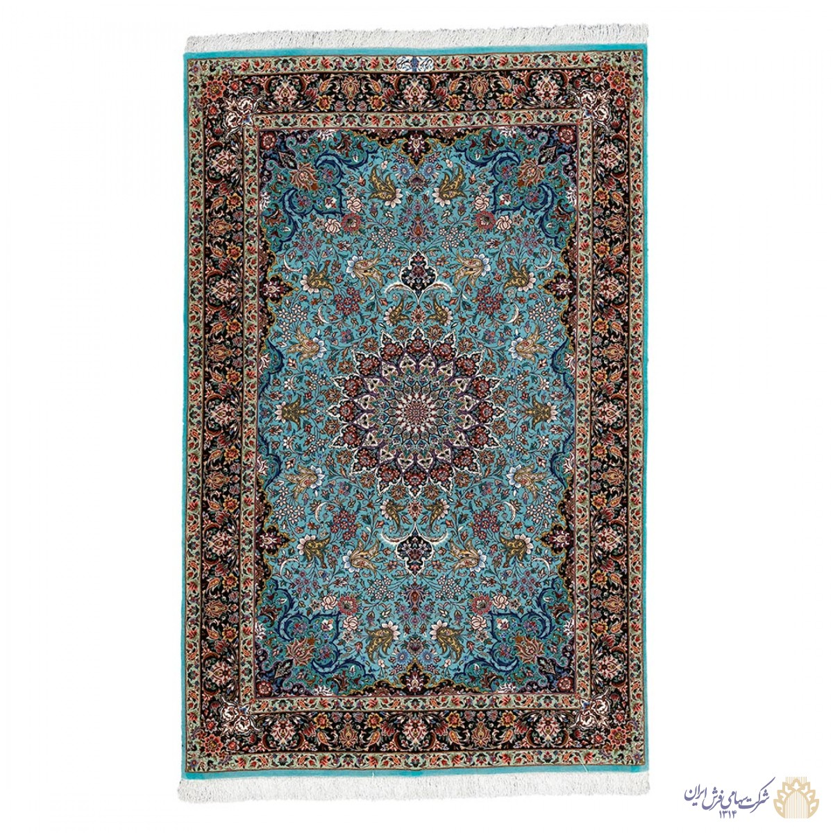 فرش دستباف سه متری کرمانشاه لچک ترنج