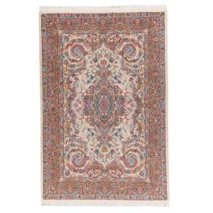 فرش دستباف شش متری کاشمر لچک و ترنج