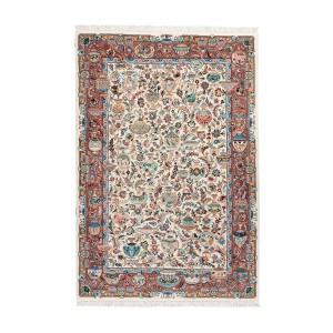 فرش دستباف شش متری کاشمر طرح زیرخاکی