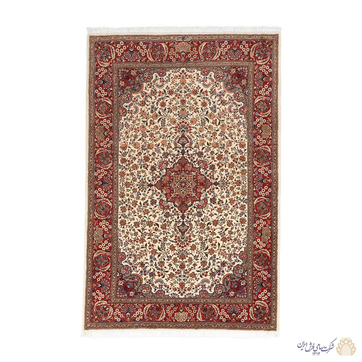 فرش دستباف شش متری همدان لچک ترنج