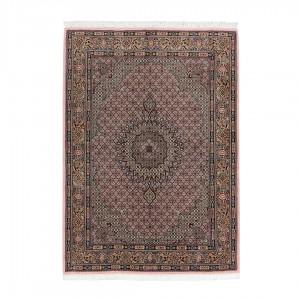 فرش دستباف شش متری بیرجند لچک ترنج ریزماهی