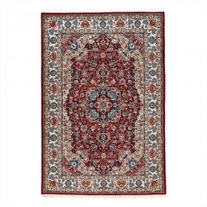 فرش دستباف شش متری اراک لچک ترنج