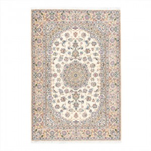 فرش دستباف شش متری چادگان لچک ترنج