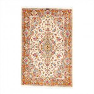 فرش دستباف شش متری کاشمر لچک ترنج