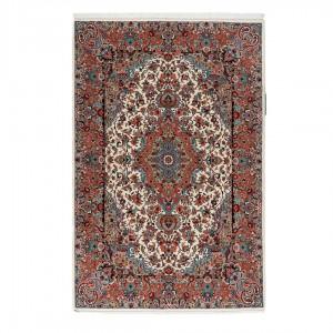 فرش دستباف شش متری گلپایگان لچک ترنج