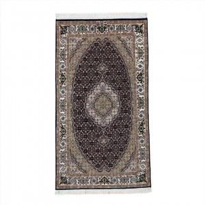 فرش دستباف یک و نیم متری اردبیل لچک ترنج ریزماهی