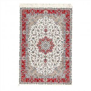 فرش دستباف شش متری کرمان لچک ترنج
