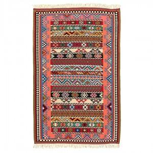 گلیم دستباف یک و نیم متری پشمی فارس محرمات